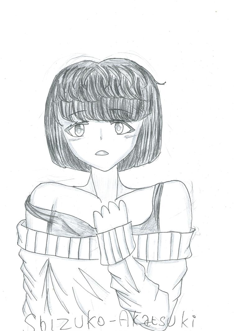 [Inktober] Day 8 : Delicate Woman by Shizuko-Akatsuki