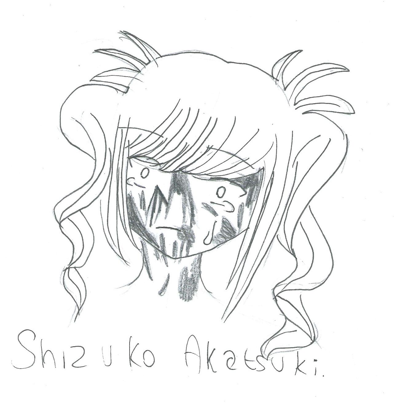 [Inktober] Day 12 : Mad Kokona by Shizuko-Akatsuki