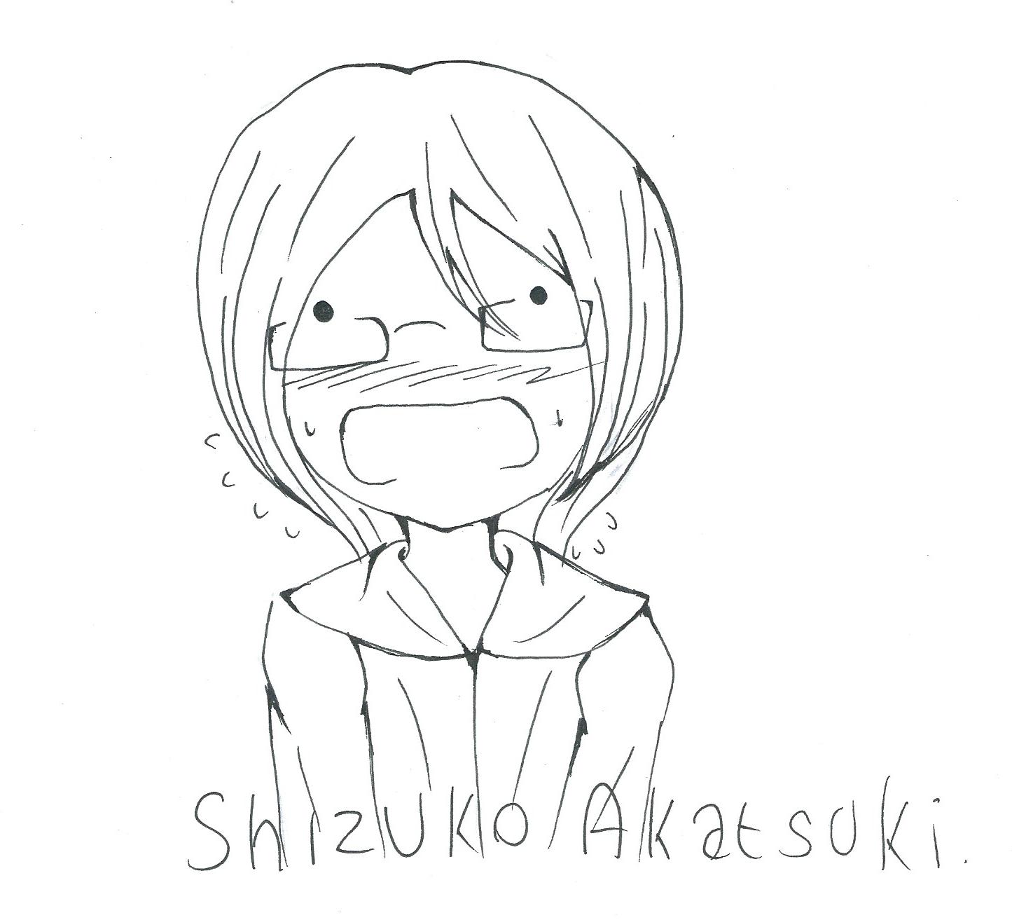 [Inktober] Day 26 : Awkward by Shizuko-Akatsuki