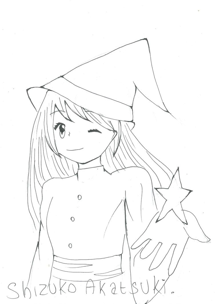 [Inktober] Day 28 : Witch by Shizuko-Akatsuki
