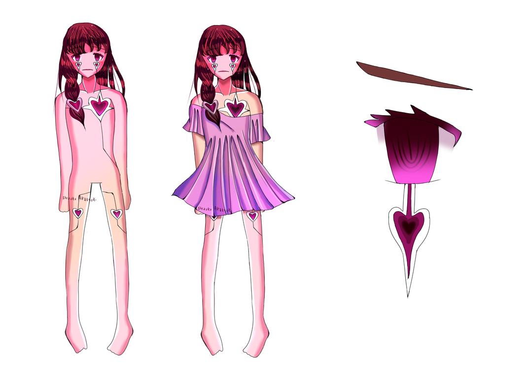 [Reference sheet] Miracle-chan by Shizuko-Akatsuki