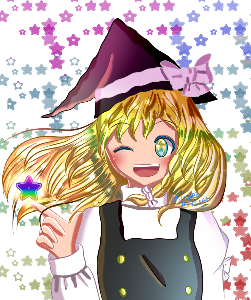 Colorful Star by Shizuko-Akatsuki