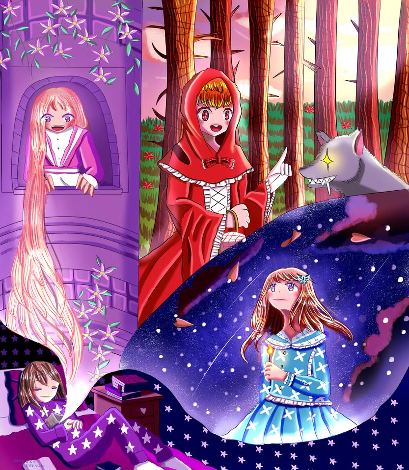 [Contest Entry] World Children's Book Day by Shizuko-Akatsuki