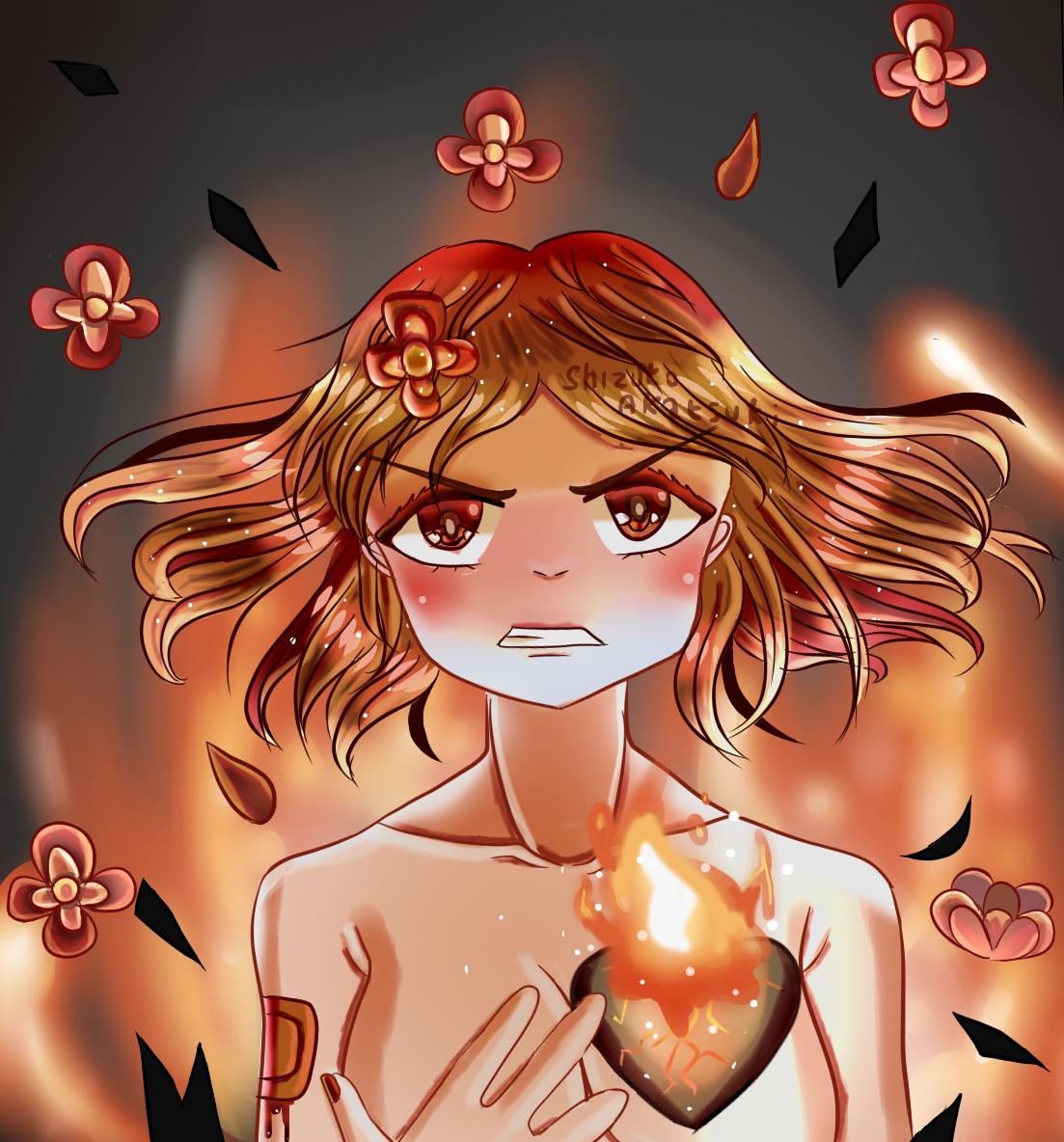 Blazing Heart by Shizuko-Akatsuki