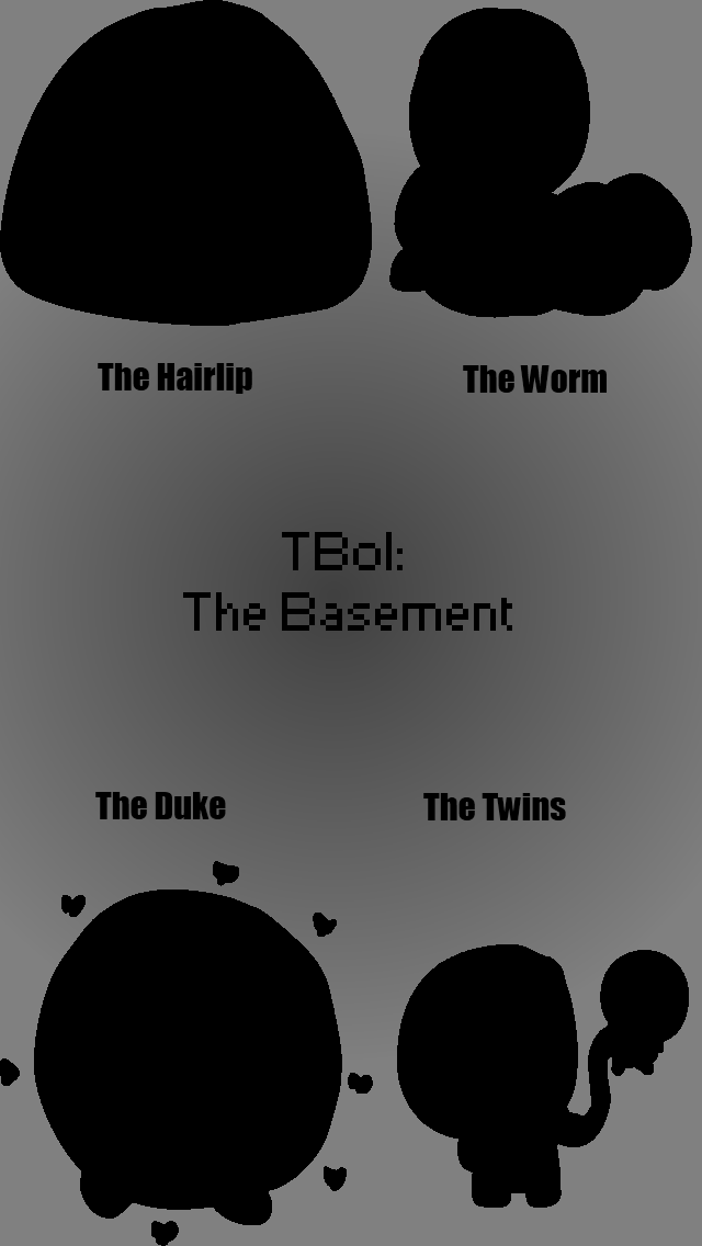 The Binding of Isaac: Basement Bosses iPhone BG by snow-melon on
