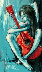 nakedguitar by kiyaaa