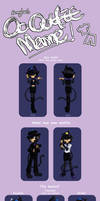Bunnyloz's OC Outfit Meme - Onyx by Duck-Roulette
