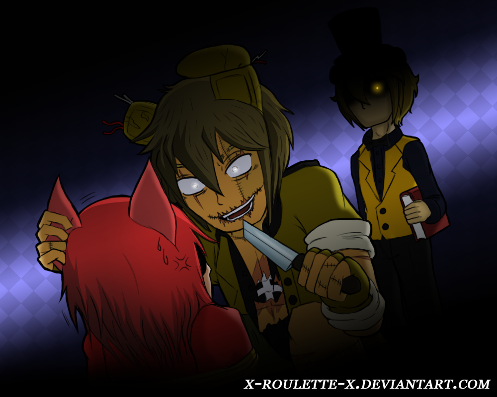 Not a plushie foxy the pirate nightmare vers deviantart