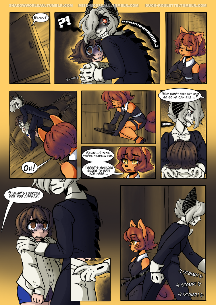 BATIM Shadow World [Page #14] by Duck-Roulette