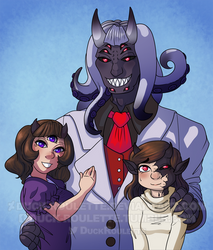 Guillory Family Portrait by Duck-Roulette