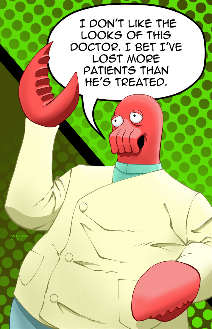 Zoidberg by BearClawStudios