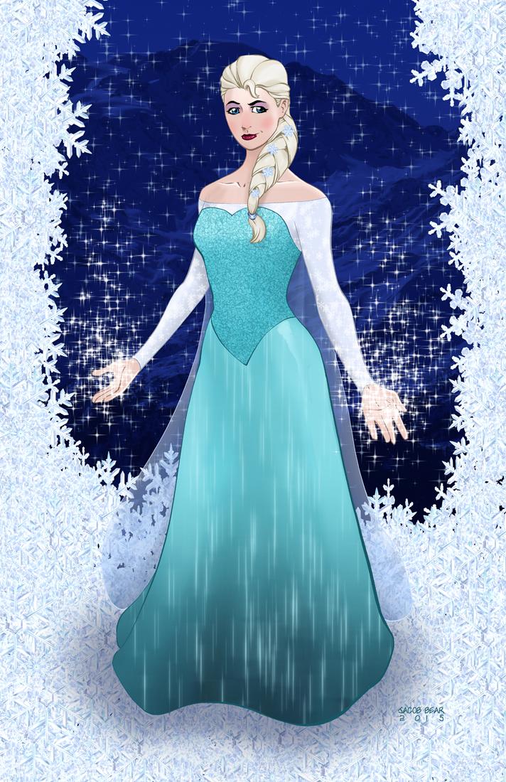 Elsa by BearClawStudios