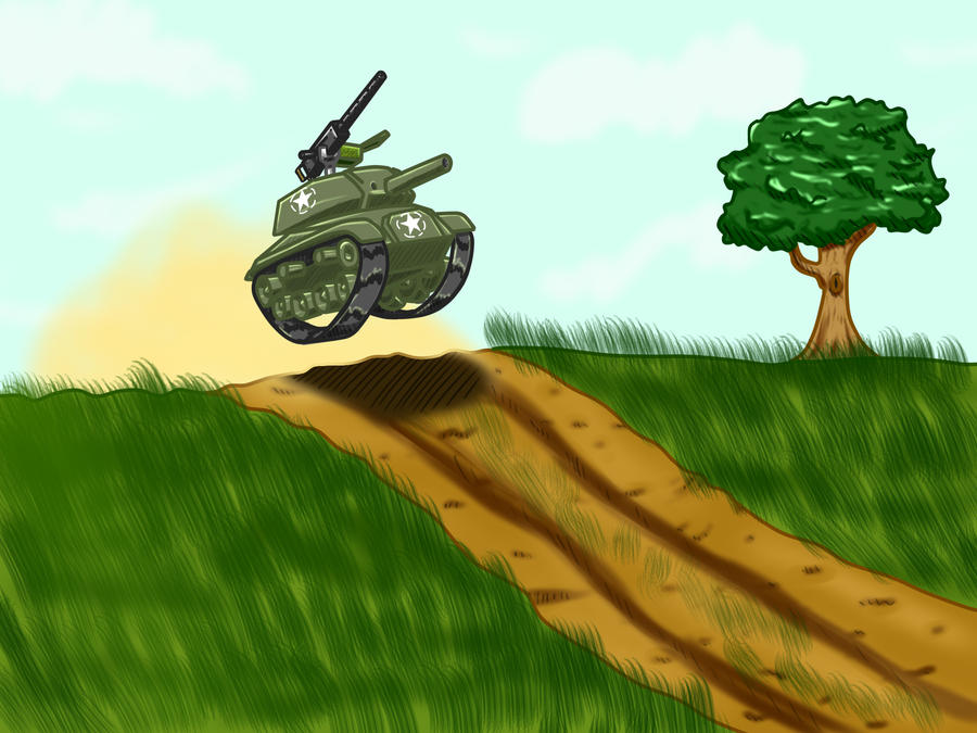 Teeny Tank by TheSourKraut