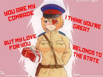 Happy Valentines day by TheSourKraut
