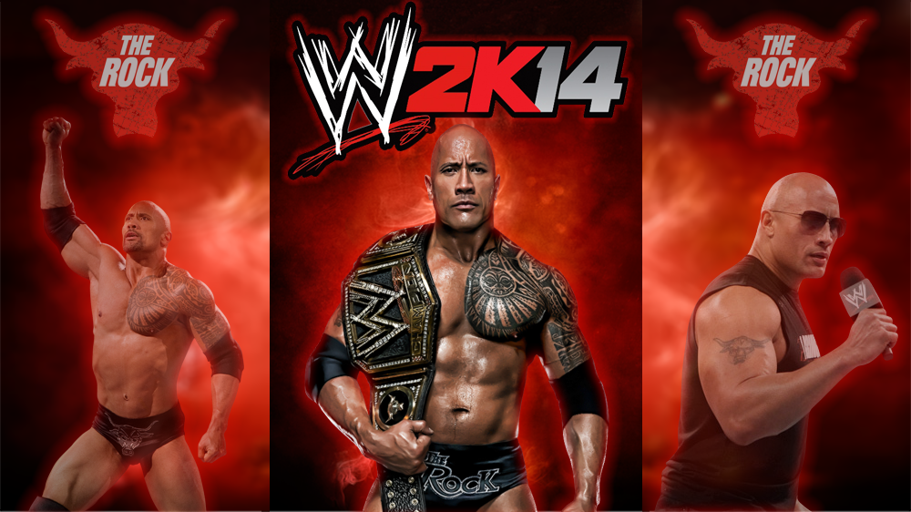 WWE 2K14 HD Desktop PS3 Wallpaper