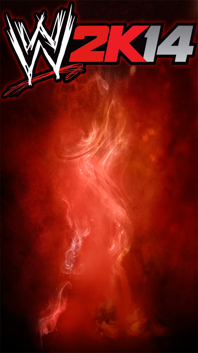 wwe 2k14 ipod 5 iphone 5 background template by wwe xtreme