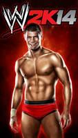 WWE 2K14 iPod 5/iPhone 5 Background - Cody Rhodes