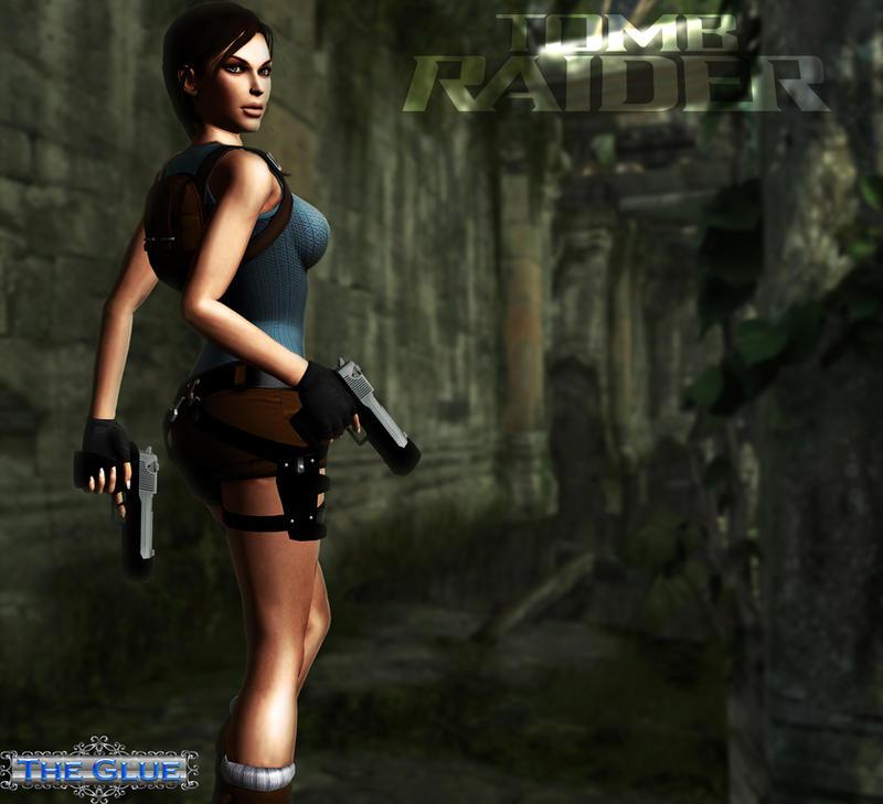 Tomb Rider Wallpaper: Tomb Raider Lara Croft 3 By TypeATS On DeviantART