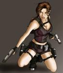 Lara Croft Art 1