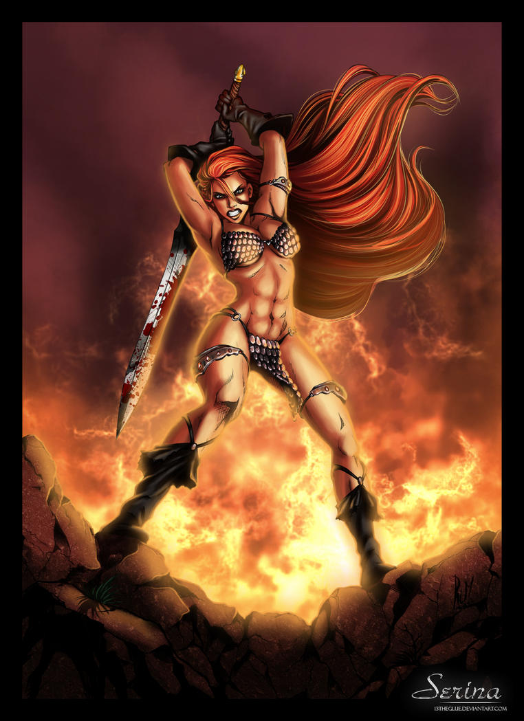 Red Sonja 02 by typeATS