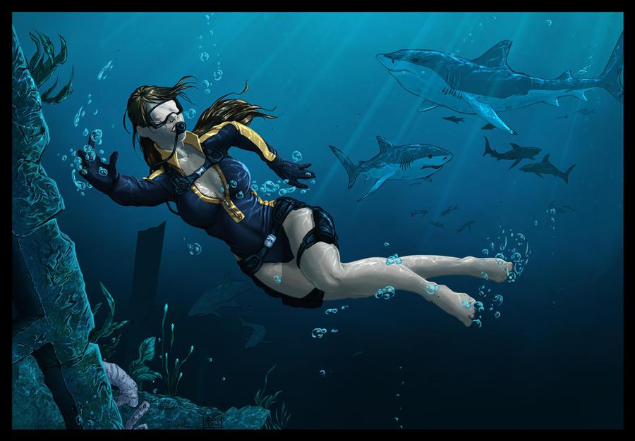 Lara Croft Wetsuit by typeATS