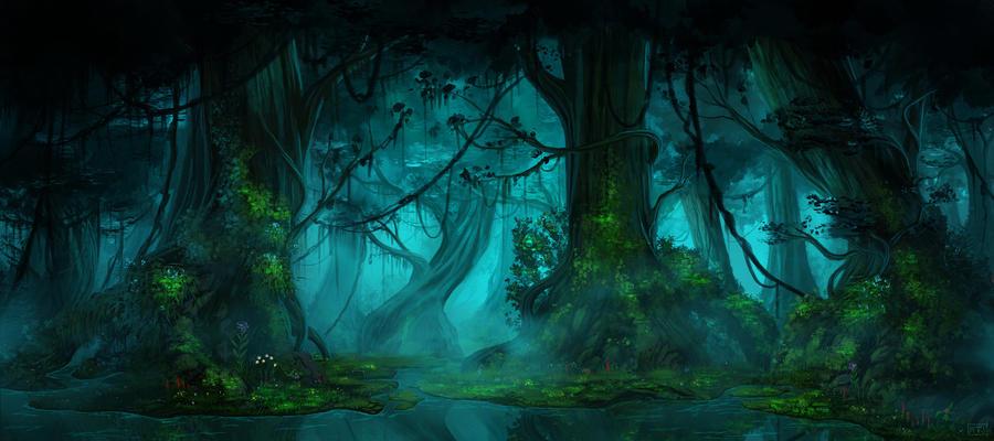 Dark forest by typeATS on DeviantArt