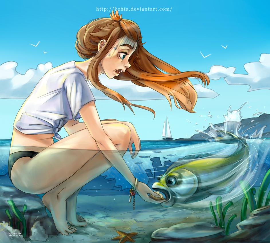Bright summer by Kehta