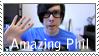 Amazing Phil stamp by Jannikaa