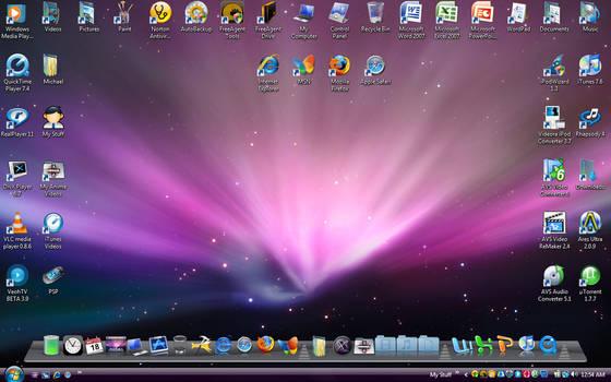 My Leopard Aero Desktop