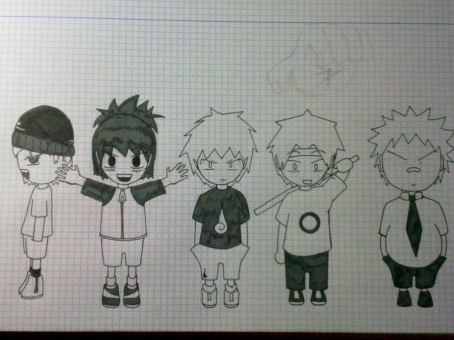 Libretas De Dibujo De Un Artista Freelance: Dibujo En Libreta By Omuka On DeviantArt