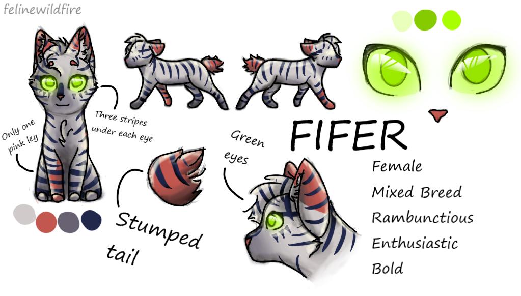 Fifer OC Ref Sheet by felinewildfire