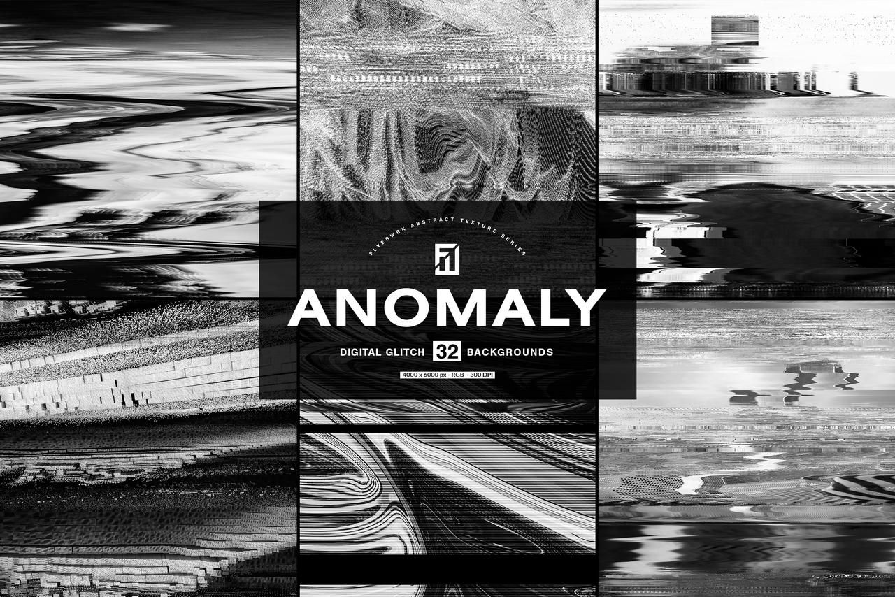 Anomaly 32 Digital Glitch Backgrounds By Flyerwrk On Deviantart