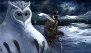 Watchmen: Antarctica by wolfie-thu