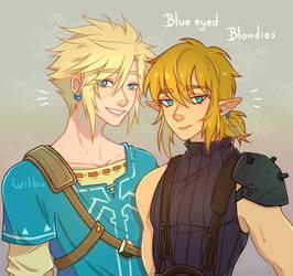 Cloud x Link Blue eyed Blondies