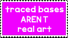 Traced Bases Stamp by uItimatekai