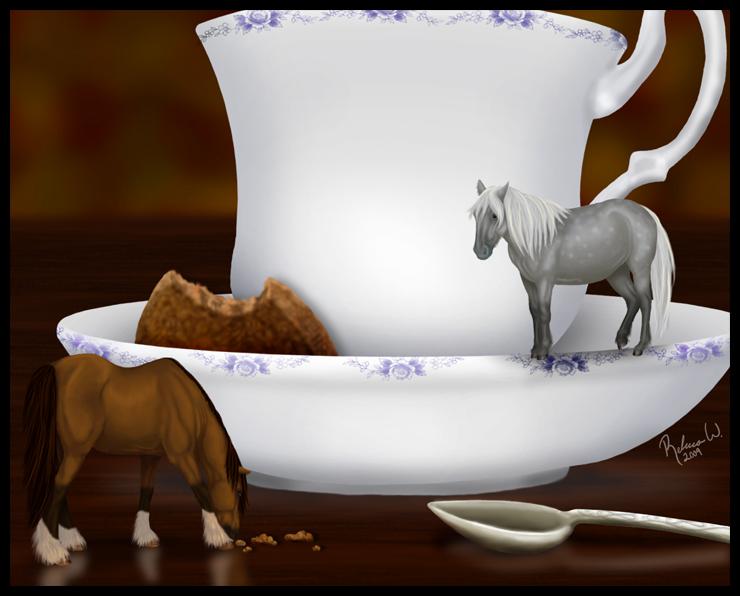 Teacup Ponies by RebeccaStapp
