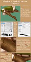 Leather Seam Tutorial