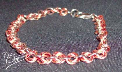 Copper Rose Bracelet
