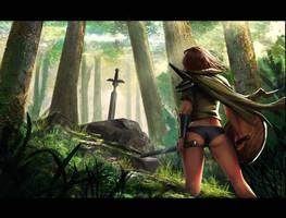 Generic fantasy scene by EthanMck