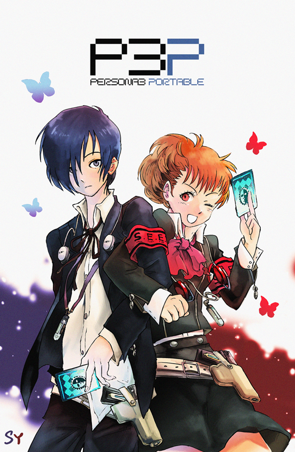 Persona 3 Portable P3P by Flyingdagger