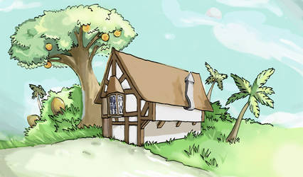 A house by Flyingdagger