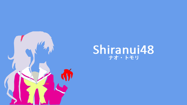 Nao Tomori [Charlotte] Vector Minimalist by shiranui48