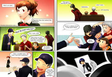 Persona 3 comic: She's so cute by lydia-the-hobo