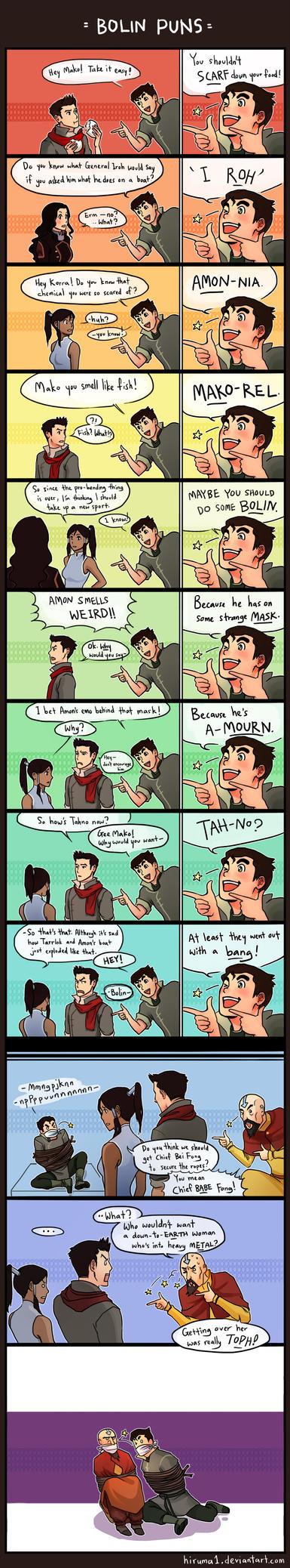 LOK- Bolin puns by lydia-the-hobo