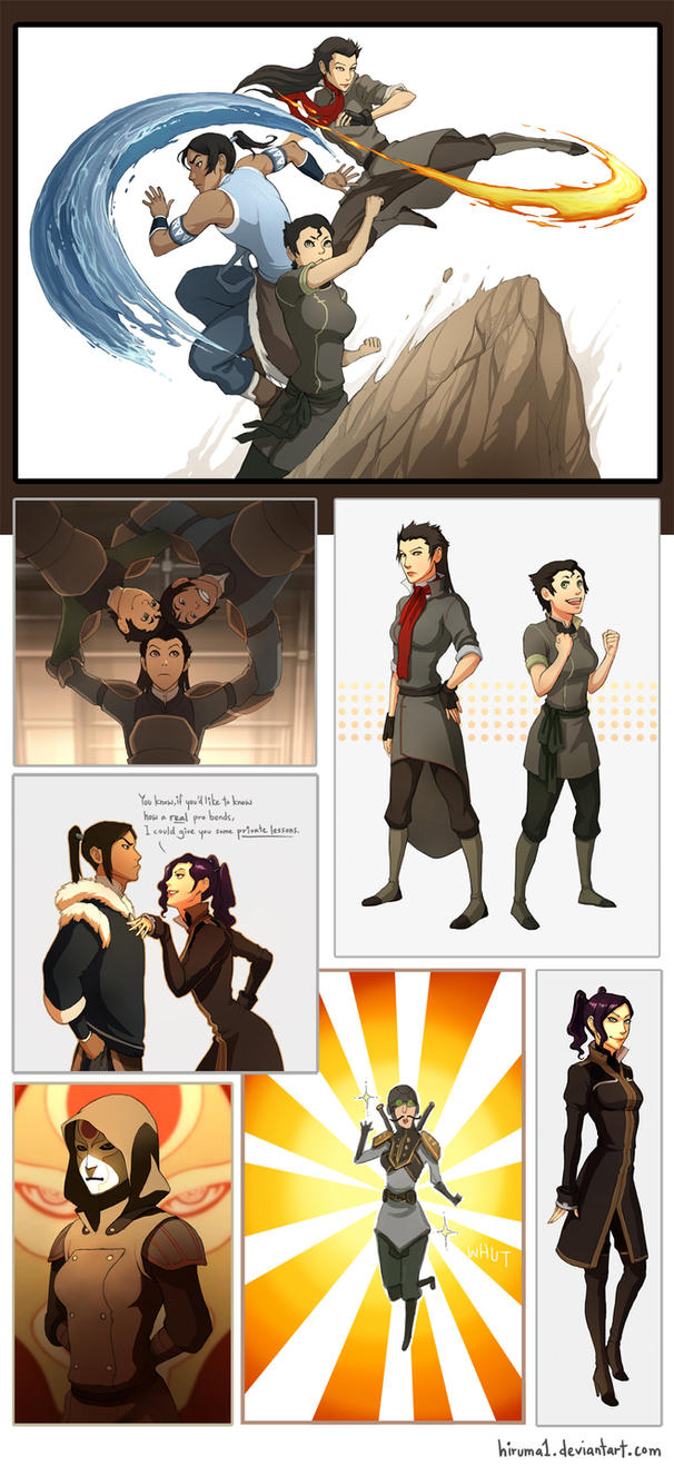 Legend of Korra_Genderbend by lydia-the-hobo
