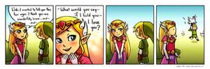 Zelda's confession
