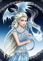 GoT x Frozen_ Daelsa Targaryen by lydia-the-hobo