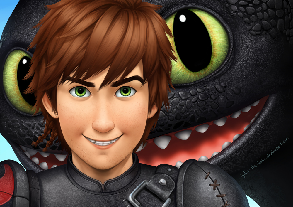 How to Train Your Dragon 2 by lydia-the-hobo