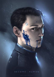 Detroit: Become Human_Connor by lydia-the-hobo