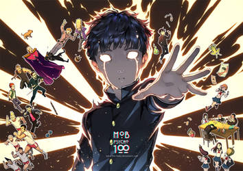 Mob Psycho 100 by lydia-the-hobo